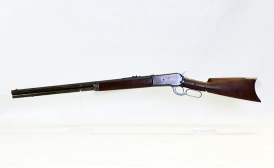 Winchester Mod 1886 45-70 cal L/A rifle