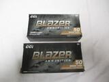1 bx 147 gr & 1 bx 115 gr Blazer 9mm Luger
