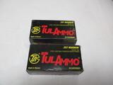 2 bx TulAmmo .357 magnum, 158 grain