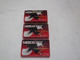 3 bx American Eagle 300 blackout, 150 grain