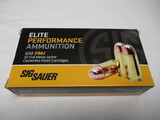 Elite Performance Sig Sauer 45 auto ammo