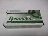 50 pistol rds Remington 45 automatic