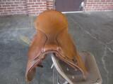 English saddle with blanket, no stirrups