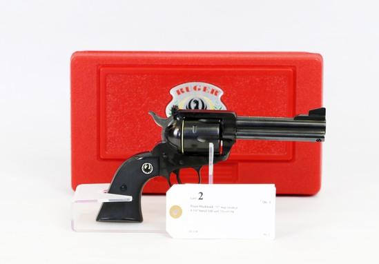 Ruger Blackhawk .357 mag revolver