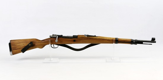 Zastava mod. M-48 8mm cal B/A rifle with leather sling ser# 50534