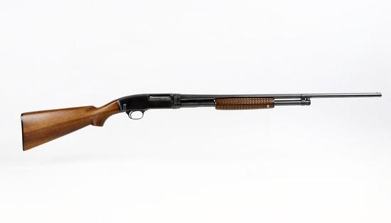 "Winchester mod 42 .410 ga pump shotgun 3"" chamber, modified barrel ser# 28474"