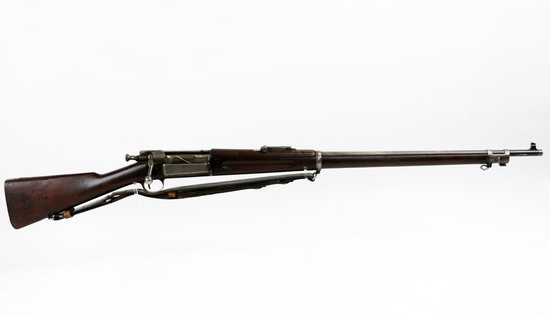 US Springfield Krag mod 1898 30-40 cal B/A rifle w/leather sling ser# 406044