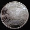 Golden State Mint St. Gaudens Eagle 1 troy Oz. .999 Fine Silver Round