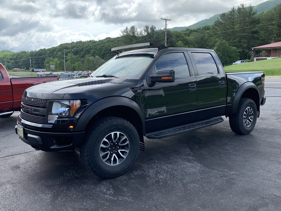 2012 Ford F-150 Raptor 6.2 Litre, Performance Tuner, Custom Rousch Stainless Exhaust, Navigation, Ba