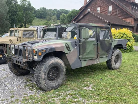 1987 Humvee 4 Seater Camo
