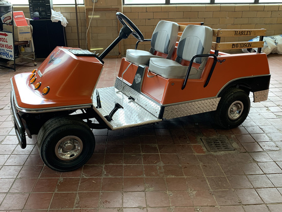 1972 Harley Davidson AMF Model H Golf Cart