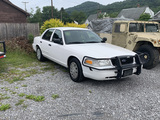 2008 Ford Crown Victoria Police Car
