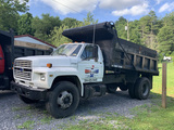 1991 Ford F700 Dump Truck 129,000 Miles