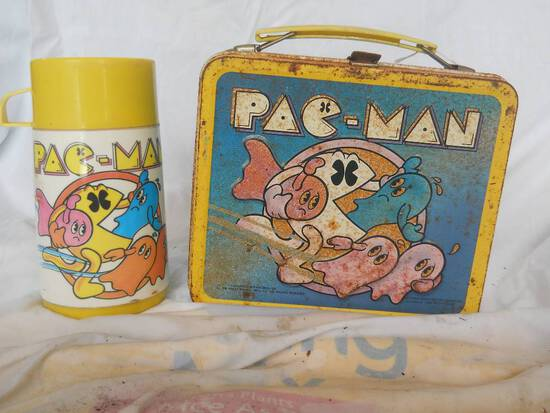 PacMan Lunchbox + Thermos