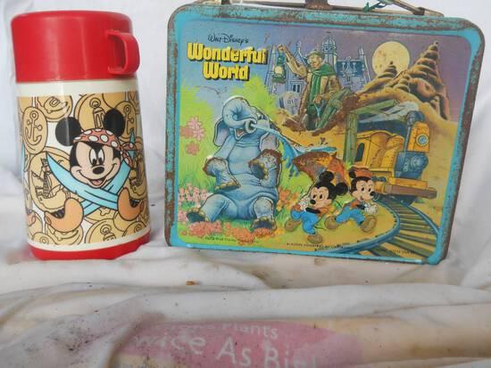 Disney Lunchbox + Thermos