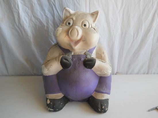 Pig Plaster Piggy Bank #2