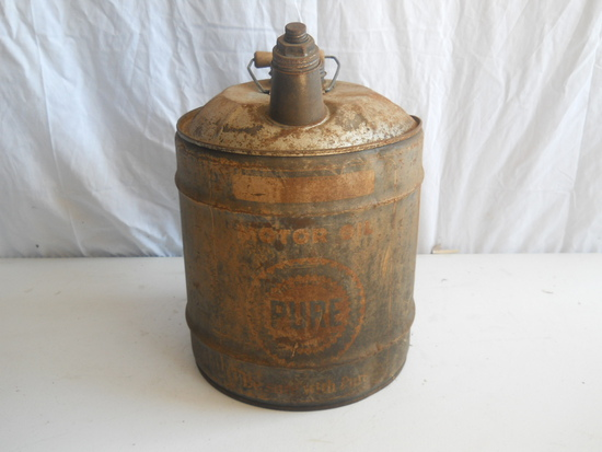"""""""Pure"""" Motor Oil 5 Gal. Can"""