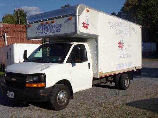 2005 Chevy Box Truck