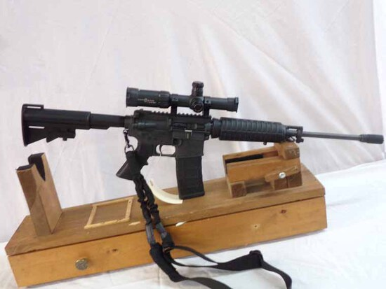 Bushmaster Carbon-15 Comes w/30 Round Mag and Sight Mark 1-4x24 Scope
