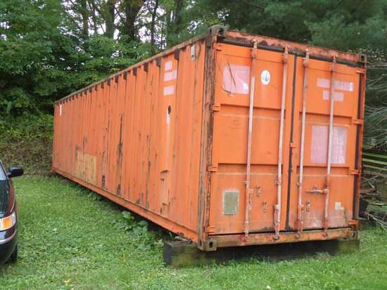 40' Orange Container