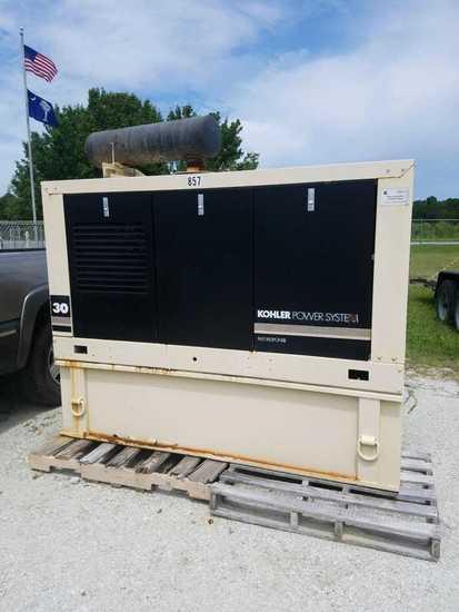 30KW Kohler Generator 1553 hours