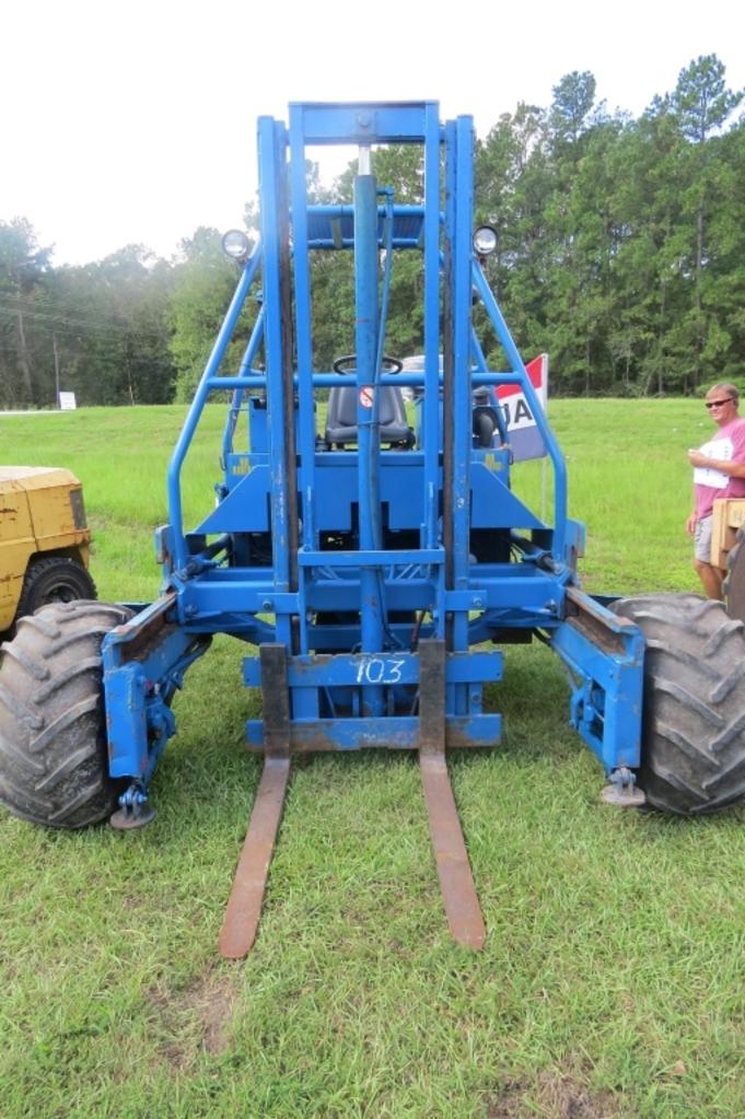 Teledyne Princeton D 4500 Diesel Forklift