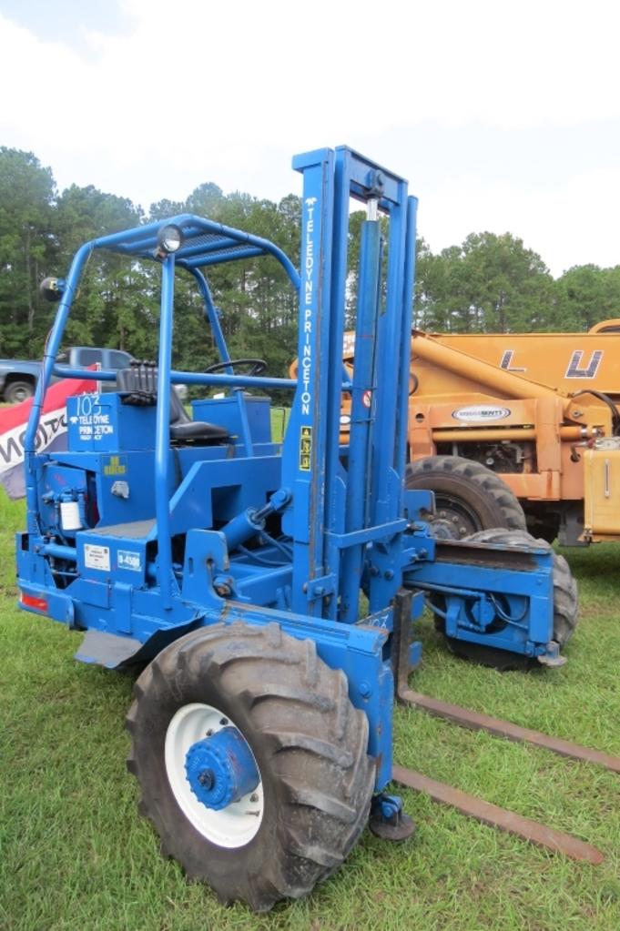 Lot Teledyne Princeton D 4500 Diesel Forklift
