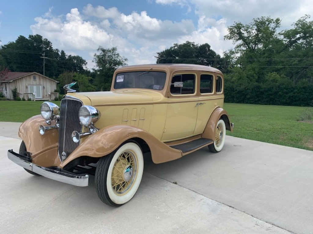 """1933 Chevrolet Master Eagle Phaeton 4 Door Sedan"