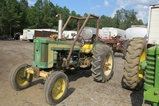 John Deere Model 420 New Battery *Running*