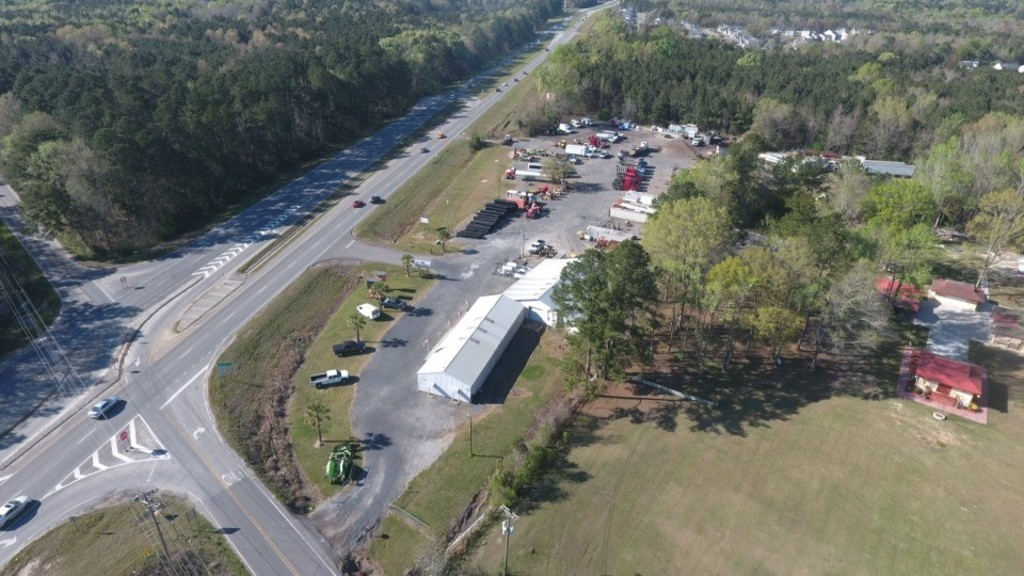Prime Commercial Real Estate - Almost 4 acres with 7,788 sq ft