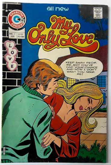 MY ONLY LOVE:  The Long Wait  (Premiere Issue) - Charlton Comics