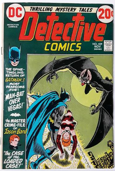 DETECTIVE COMICS:  Man-Bat Over Vegas! - DC Comics