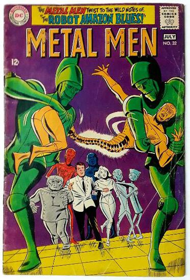 "METAL MEN:  The ""Metal Women Blues""! - DC Comics"
