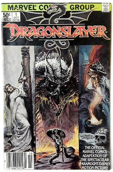 DRAGONSLAYER:  First Issue - Marvel Comics