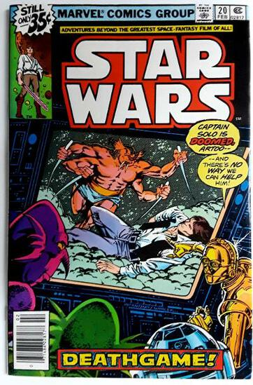 STAR WARS:  Deathgame! - Marvel Comics