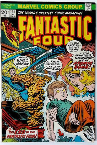 FANTASTIC FOUR:  The End of the Fantastic Four! - Marvel Comics