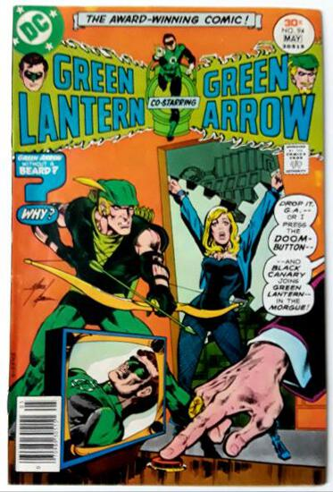 GREEN LANTERN AND GREEN ARROW:  Lure For An Assassin! - DC Comics