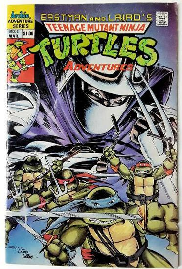 TEENAGE MUTANT NINJA TURTLES:  Return of the Shredder (First Issue) - Archie Adventure Comics