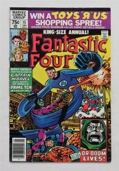 "FANTASTIC FOUR:  ""Time For The Prime Ten"" - Marvel Comics"