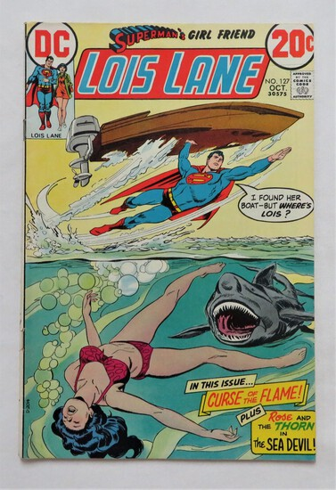 "Superman's Girl Friend LOIS LANE:  ""Curse Of The Flame!"" - DC Comics"