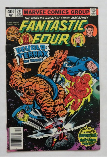 "FANTASTIC FOUR:  ""Behold Terrax The Tamer!"" - Marvel Comics"