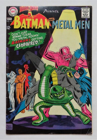 "BATMAN & METAL MEN:  ""Rampant Run The Robots!"" - DC Comics"