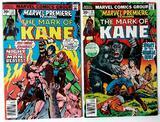 THE MARK OF KANE - Set of 2 - Marvel Premiere