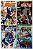 WEST COAST AVENGERS - Limited Series Complete Set of 4 - Marvel Comics