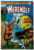 WEREWOLF BY NIGHT:  A Life for a Death! - Marvel Comics
