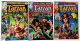TARZAN, Lord of the Jungle - Set of 3 - Marvel Comics