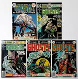 GHOSTS - Set of 5 - DC Comics