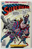 SUPERMAN:  The Man Who Toyed With Death! - DC Comics