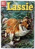 M-G-M's LASSIE:  The Hunter's Prey - Dell Comics