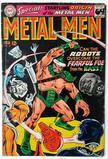 METAL MEN:  The Startling Origin of the Metal Men! - DC Comics
